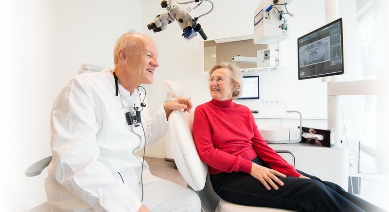 Blick in einen Behandlungsraum